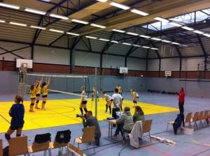 wU18 vs. Solingen Volleys